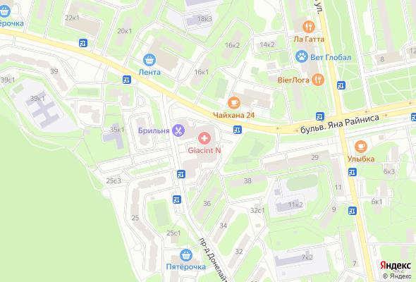жилой комплекс Балтийский квартет