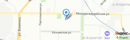 Мишутка на карте Москвы