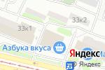 Схема проезда до компании Аква Джой в Москве