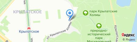 Арженто на карте Москвы