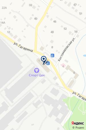 ПРОИЗВОДСТВЕННАЯ ФИРМА КРИСТИНА на карте Чехова
