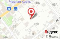 Схема проезда до компании Вспышка в Серпухове