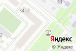 Схема проезда до компании Крылатское в Москве
