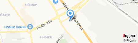 Фольксваген Центр Германика на карте Химок