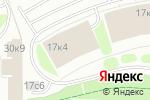 Схема проезда до компании Волга-Днепр в Москве