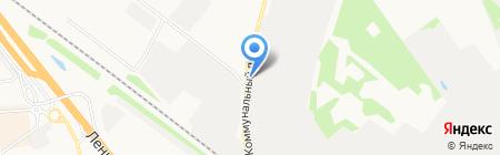 Магазин на Коммунальном проезде на карте Химок