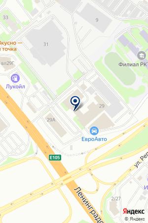 АВИАКАССЫ АВИА БИЗНЕС СЕРВИС на карте Химок