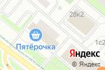 Схема проезда до компании Био-Кафе в Москве