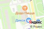 Схема проезда до компании Индейкин Дом в Москве