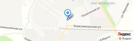 Магазин хозтоваров и бытовой химии на Комсомольской на карте Чехова