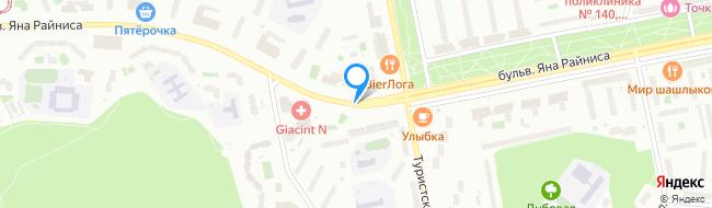 бульвар Яна Райниса