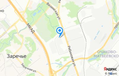 Местоположение на карте пункта техосмотра по адресу г Москва, ул Рябиновая, д 28 стр 4