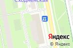 Схема проезда до компании Пёстрое в Москве