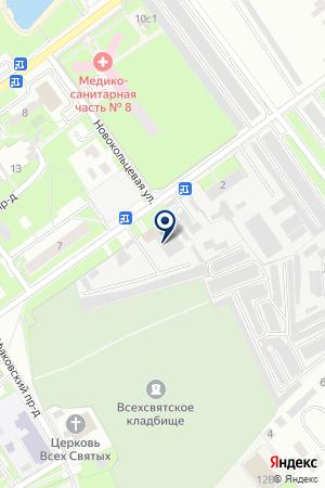МУП СЕРПУХОВСКАЯ ЭЛЕКТРИЧЕСКАЯ СЕТЬ на карте Серпухова