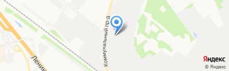Кафе-бар на Коммунальном проезде на карте Химок