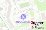 Схема проезда до компании Линия красоты в Москве