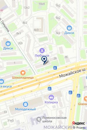 МАГАЗИН АВТОЗАПЧАСТЕЙ DEKA на карте Можайска