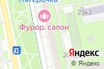 Схема проезда до компании Московская областная государственная детская библиотека в Москве