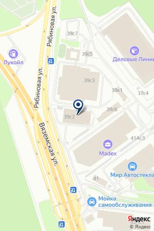 АВТОМОЙКА на карте Новой