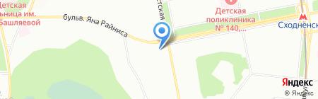 Мир Ткани на карте Москвы