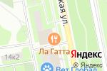 Схема проезда до компании ЛаГатта в Москве