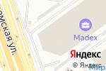 Схема проезда до компании Mercury Forge в Москве