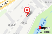 Схема проезда до компании Инсепт в Москве