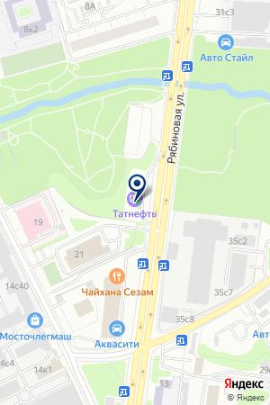 АЗС № 28 на карте Новой