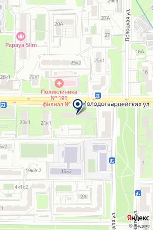 АВАРИЙНО-ДИСПЕТЧЕРСКАЯ СЛУЖБА ДЕЗ КУНЦЕВО на карте Москвы