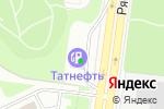 Схема проезда до компании Татнефть в Москве