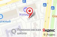 Схема проезда до компании Тауэр-Строй в Москве