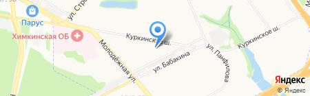 Специальная (коррекционная) начальная школа-детский сад №47 на карте Химок