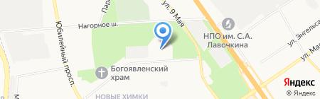 Интеграл на карте Химок