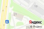 Схема проезда до компании ПирамидДом.ру в Москве