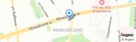 Таун на карте Москвы
