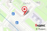 Схема проезда до компании Комтермо в Москве