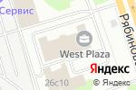 Схема проезда до компании ПакетСервис в Москве