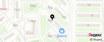 АвтоМатрикс на карте Москвы