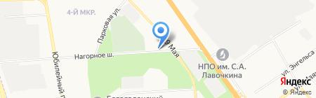 Нагорное-2 на карте Химок