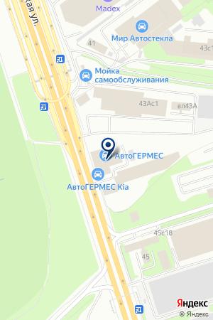 АВТОСАЛОН НОРД АВТО М на карте Новой