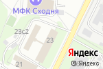 Схема проезда до компании Tok в Москве