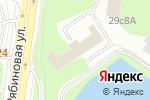 Схема проезда до компании Окна Цветослава в Москве