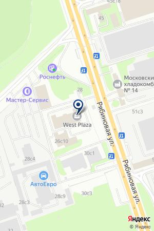 ТОРГОВЫЙ КОНЦЕРН МОЛСОК на карте Новой