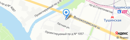 Speedometers.ru на карте Москвы