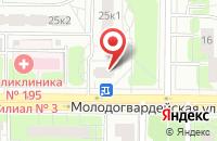 Схема проезда до компании Дионисстрой в Москве