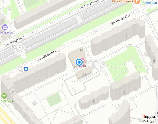 Управляющая компания «РВ-СЕРВИС» на карте Химок