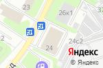 Схема проезда до компании BShina.ru в Москве