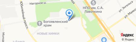 РиалЭнерго на карте Химок