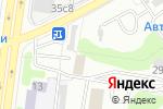 Схема проезда до компании Точка Рекламы в Москве