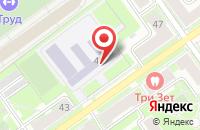 Схема проезда до компании Средняя общеобразовательная школа №1 в Серпухове